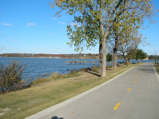 10 shots of the bike path itself