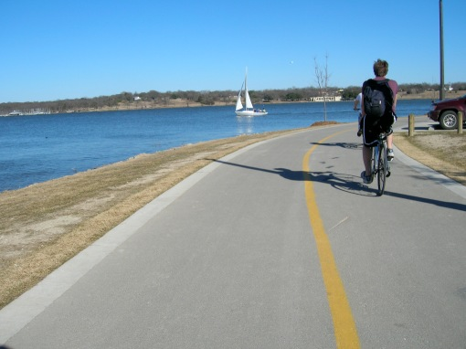 bikes and sailboats and trails and things